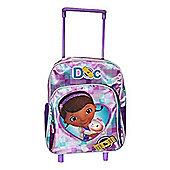 Disney Doc McStuffins Medium Backpack Wheeled Bag
