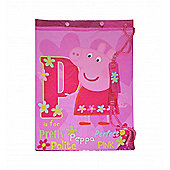Peppa Pig George P is for Pretty Pink PVC Swim Bag
