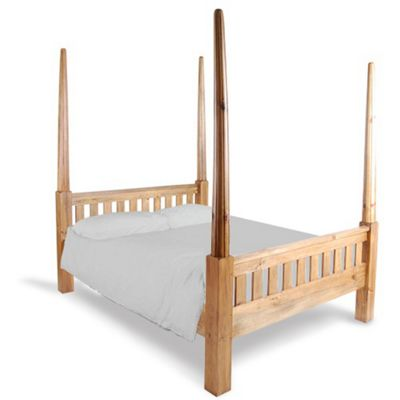 Buy Oceans Apart Vintage Pine Four Poster Bed Frame from our King ...