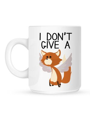 I Don't Give A Flying Fox 10oz Ceramic Mug