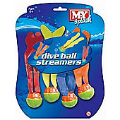M.Y Dive Balls With Streamers