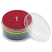 Learning Resources Magnetic Foam Rainbow Fraction Circles