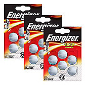 18 x Energizer CR2032 3V Lithium Coin Cell Battery 2032, DL2032, BR2032, SB-T15