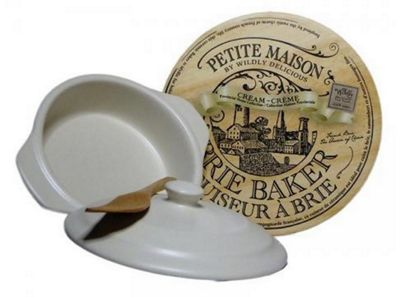 Wildly Delicious Petite Maison Brie Baker in Cream BBD-PM4