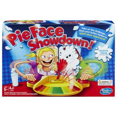 Pie Face Showdown from Hasbro Gaming