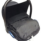 Car Seat Footmuff Suitable With Maxi Cosi Pebble Black