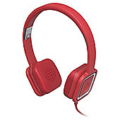Ministry of Sound Audio On On-ear Headphones - Red