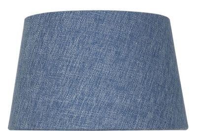Stonewash Blue 9 Inch Linen Empire Shade (Dual Fitting)