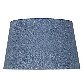 Stonewash Blue 9 Inch Linen Empire Shade (Dual Fitting)