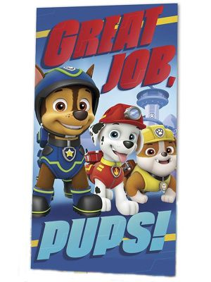 Paw Patrol Great Job Pups Towel