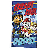 Paw Patrol Great Job Pups Towel