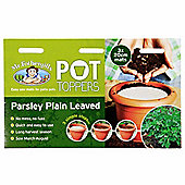 Mr Fothergill's Parsley Herb Garden Plant Pot Topper