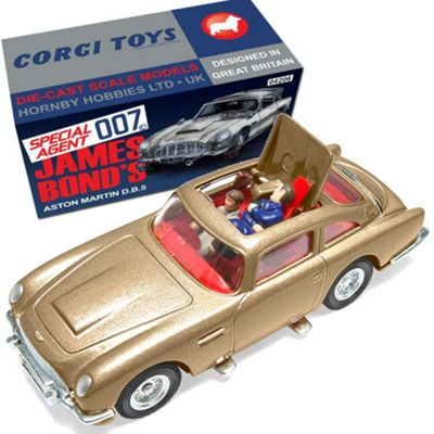 CORGI CC04206 James Bond Aston Martin DB5 Gold 50th Anniversary Thunderball