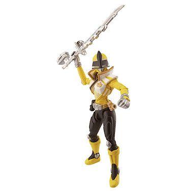 Power Rangers Super Samurai Action Figure - Yellow Super Mega Ranger