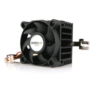 StarTech.com 50x50x41mm Socket 7/370 CPU Cooler Fan w/ Heatsink and TX3 and LP5