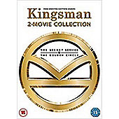 Kingsman: The Secret Service / Kingsman 2: The Golden Circle Boxset DVD