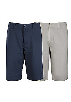 Ciro Citterio Signature Chino Shorts 2 Pack - Multi