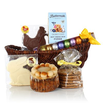 Buy easter basket from our alcohol free gifts hampers range tesco easter basket negle Images