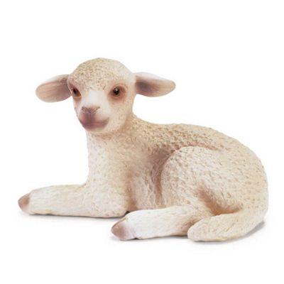 Schleich Lamb lying