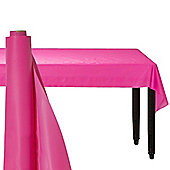 Hot Pink Table Roll - 30m Plastic