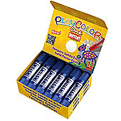 Playcolor Basic One 10g Solid Poster Paint Stick (Pack of 12 - Dark Blue)