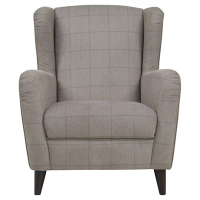 Buy Sophia Fabric Occasional Chair Mink Check from our Armchairs