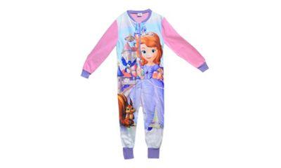 Disney Sofia Fleece 5-6 Years Jumpsuit
