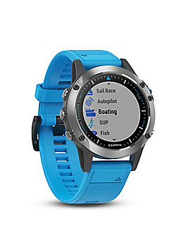 Garmin Quatix 5 GPS Smartwatch│Autopilot Control│Data Streaming│Marine Features