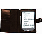 Navitech - Book Style Case Cover for the All New Kindle E-Reader 2016 + 2017 Case in Brown