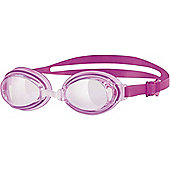 Zoggs Hydro Adult UV Swimming Goggles - Pink