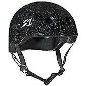 S1 Helmet Company Lifer Helmet - Black Gloss Glitter (Small)