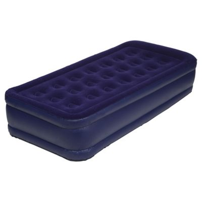 Tesco Raised Single Air Bed with Electric Pump