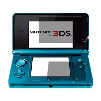 iTALKonline S-Protect LCD Screen Protector and Micro Fibre Cleaning Cloth For - Nintendo 3DS