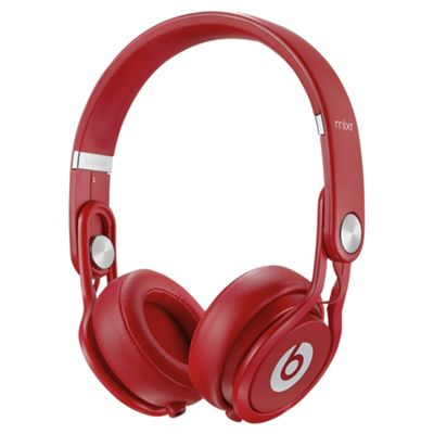 Beats Mixr On-Ear Headphones - Red
