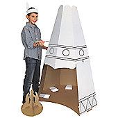Paintable Play TeePee Tent
