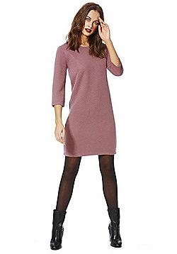 Jacqueline De Yong Murillo Chevron Dress - Purple