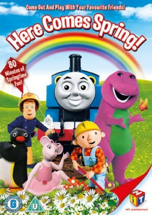 Hit Favourites - Here Comes Spring! (DVD)