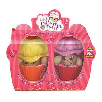 Little Miss Muffin Friends Duo – Miss Cinnamon and Miss Pumpkin Dolls