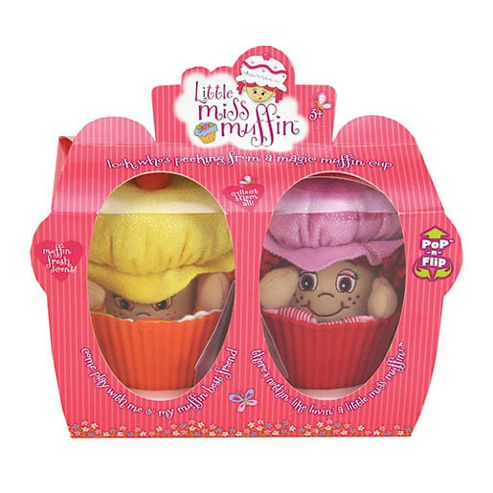 Little Miss Muffin Friends Duo – Miss Cinnamon and Miss Pumpkin Dolls