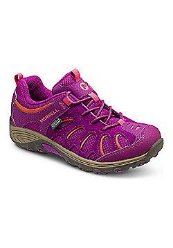 Merrell Kids Cham Low Lace Shoes - Fuchsia