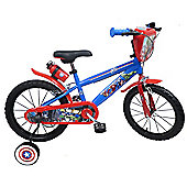 MARVEL Avengers 16 inch Wheel Red Kids Bike.