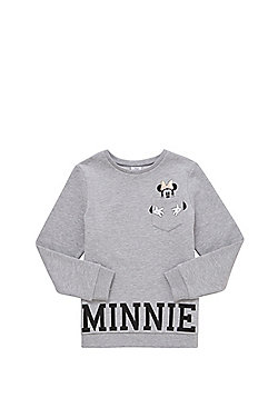 Disney Minnie Mouse Sweatshirt - Light grey