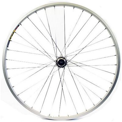 Wilkinson 26 x 1.75 Rear Alloy ATB Q/R Shimano Cassette 8/9 Speed Wheel in Silver