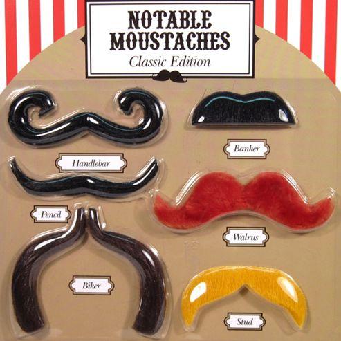 Fancy Dress Moustaches - Classic Edition