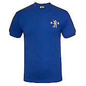 Chelsea FC Mens 1972 1976 Retro Shirt - Blue