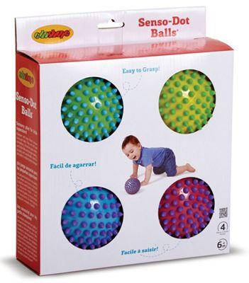 Edushape Senso-Dot Balls (4pk)