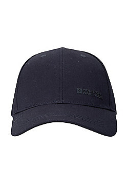 Mountain Warehouse Mens Summer Hats with 100% Cotton Twill Design and Breathable - Blue