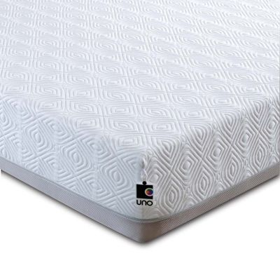 Breasley UNO Pocket 1000 Memory Foam and Pocket Sprung Mattress with Quilted Cover - Single