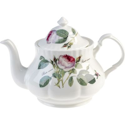 Roy Kirkham Redoute Rose Grand Teapot