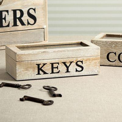 Wooden Keys Box